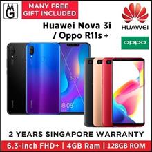 Huawei nova 3i  4/128GB | Oppo R11s 4/64GB  2 Years Manufacturer Warranty.