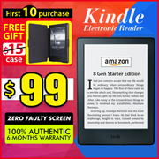 HXR Mobile!!100% Authentic  Amazon Kindle 8th Generation(CN)(US)◎ Kindle Paperwhite 3(USA) Free Gift