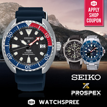 *APPLY 25% OFF COUPON* SEIKO PROSPEX Collection. Automatic Diver Solar Chronograph Kinetic Watches.