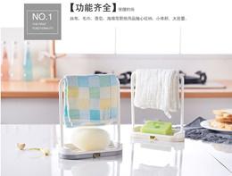 Creative Soap Holder / multipurpose hanger / towel rack holder /Sponge holder / bathroom organizer