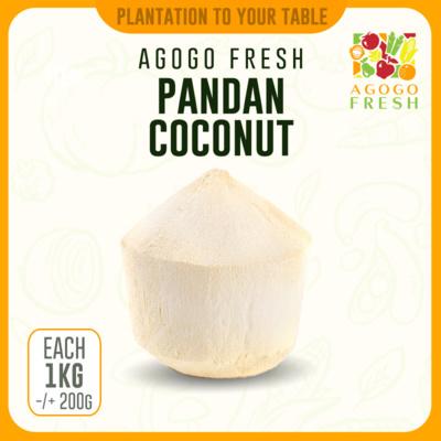 Cut Pandan Coconut (1-2kg)