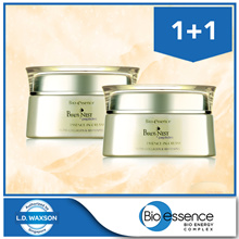 1 + 1 Bio-essence Birds Nest + Peptides Essence-in-Cream 20ml x 2 bottles