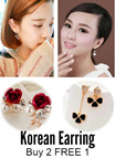 Korean Fashionable earring. FLAT SHIPPING