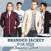 BRANDNEW MAN BLAZER/SWEATSHIRT with HOODIE% Hoodie Jacket pria jaket sweater