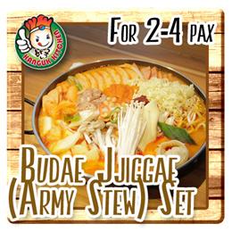 Budae Jjiggae (Army Stew) Set For 2-4 pax