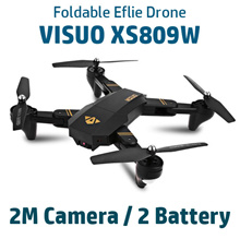 【VISUO】【Sky-Hunter】 ELFIE RC Drone Foldable Mini RC Selfie ★ 3.2M Camera ★ WiFi FPV 720P HD Video