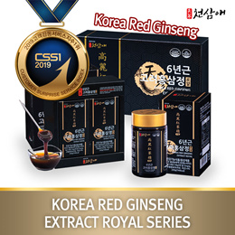 [NEW]★Open Promotion★Cheapest Price! Korea Red Ginseng 6Years Premium Extract Royal(240gx4pcs)/kfood