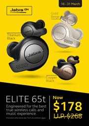 Jabra Elite 65t | Titanium Black
