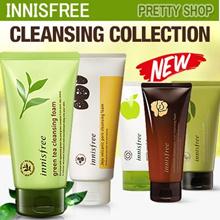 [Innisfree] 1+1 Cleansing Foam Line! Apple Juicy/Green Tea/Jejubija/Jeju Volcanic Pore/Calming