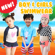 [Twinkle+Kids] 22th July NEW★Swimming Suit /children/diving/life /vest/float/thermal/swimwear07