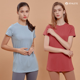 [Todays Crazy 1+1] 4 FOR FREE shipping! Natural silhouette Marilyn Long T-shirt HRT52