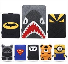Macbook Air 11.6 / Latest Macbook 12-inch / Macbook 13.3 / Macbook pro15 case cover pouch Minions Superman Batman