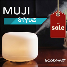 【2018 Sales】MUJI STYLE 100 300 500ml Aroma Essential Diffuser Humidifier Local Warranty