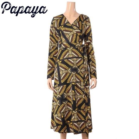 パパイヤ・ローブワンピースCNHROP007D 面ワンピース/ 韓国ファッション