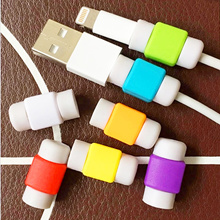 [BUY 5 FREE 1] Lightning Saver USB Cable Cover Protector Safe Case for iPhone iPad Cable i Saver Pl