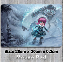 Frostfire Annie League of Legends Decorate Mouse Pad / Mouse Mat (Size: 28cm by 20cm)