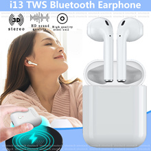 ReadyStock 13 TWS Earphone Touch control 1:1 for Airpods Wireless Bluetooth 5.0 3D Super Bass Earbud