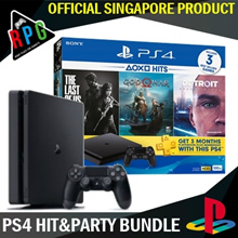 Playstation 4 Slim 500GB Hit and Party Bundle (LATEST VERSION)