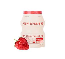 APIEU Real Big Yogurt One Bottle (Strawberry) Sheet Masks Skin care Face Facial Womens Koreans
