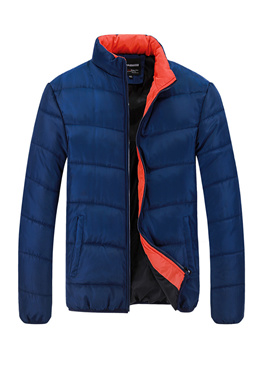 Lime Building Winter New Men s stand-by-color cotton jacket cotton Clothing