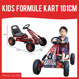 Kids Formule Kart 101cm ■ with air wheels ★ Stock in Singapore ★ pedal kart/ kids car