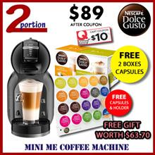 [FREE 2 Boxes of Capsules+20s Capsules+Holder] NESCAFÉ Dolce Gusto MINI ME Coffee Machine
