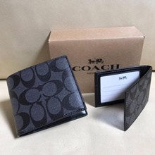Authentic COACH Men Wallets F74993 with Box - Ship from SG - Father Day Christmas Gift