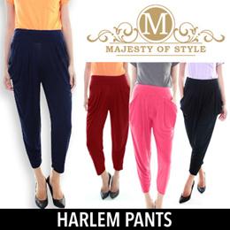 HAREM PANTS BAGGY Elastic Waist Free Size Comfort Fit !  SG Delivery !