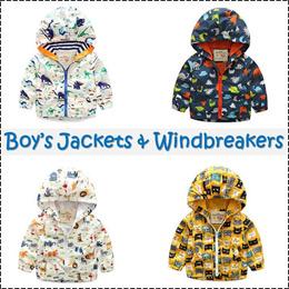 Children Windbreaker Winter Jacket Coat Boys winter Wear Kids Autumn Blazer Cardigans