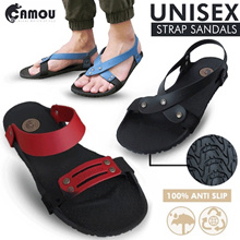 Camou New Launch Unisex Strap Sandals_Rubber Sole_Anti Slip_Slippers_Flat Price