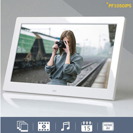 Camel PF1050IPS Digital Photo Frame: 10 inch aspect ratio: 16: 10 / IPS (Wide Viewing Angle) Video