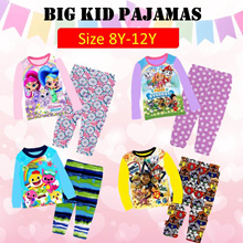 ★Mamas Luv★7/7 New Arrival Kid Pajamas big size for boy and girl 8y-12y