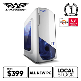 $399 GAMING RIG | ASCEND-1 | E-SPORTS | LOCAL READY STOCKS | BRAND NEW | 1 YR WARRANTY