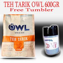 Minuman Serbuk Teh Tarik OWL + free tumbler