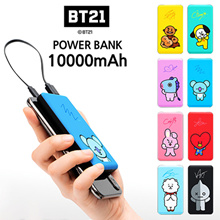 BT21 100%Authentic Portable Battery Charger 10000mAh