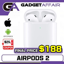 (Apple SG Set) Apple AirPods Gen 2 Wireless Bluetooth Earphones | SG Apple Warranty