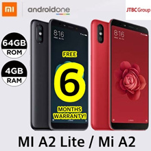 [6 MTHS WARRANTY!] XIAOMI Mi A2 LITE / A2 | ANDROID ONE | 32GB or 64GB | EXPORT SET w 6 MONTHS WTY
