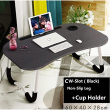 Movable Computer Laptop Table/Minimalist Stylist Computer Laptop Foldable desk Lazy bed table