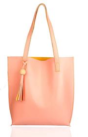29K Women Tote Bag (Without Zip) Pink