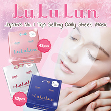 2019💕Japan Top Selling Daily Facial Mask💕Lululun★Moisture★Whitening★Anti-aging★MADE IN JAPAN★