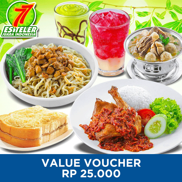 [FOOD] 25k Value Voucher /Es Teler 77 Deals for only Rp23.500 instead of Rp23.500