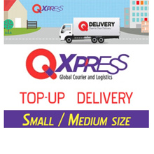 Small / Medium Items TOP UP for Qxpress Delivery Purchase from shop