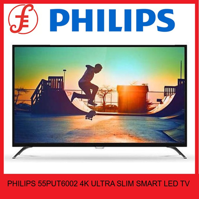 Philips 4K Ultra HD Slim Smart LED TV 43PUT6002 50PUT6002 55PUT6002