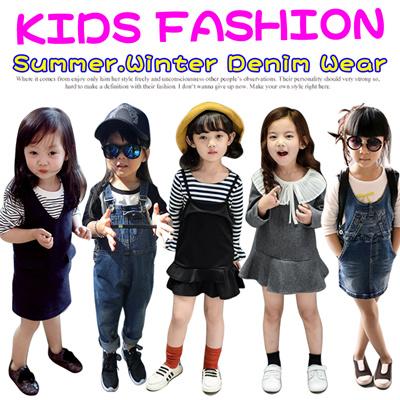 136535a1e3b Winter Kids Denim Wear!Denim Overalls Skirts Jeans