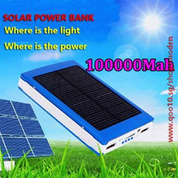 100000mAh Solar Charger Power Bank Backup emergency Solar Battery External Chargers For Moblie Phone