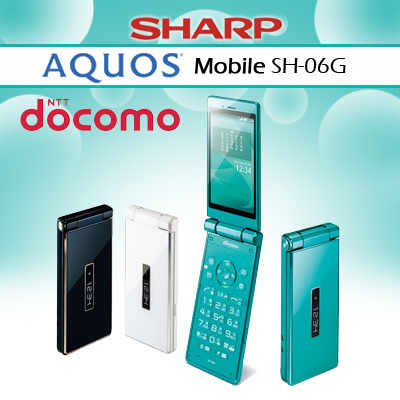 DoCoMoDocomo SH-06G Sharp Aquos Feature Flip/Clamshell Android Unlocked  Smartphone