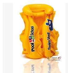INTEX children swimming school Swim Vest -58660 childrens inflatable life jacket / water toys