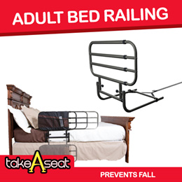 Adult/Elderly Home Adjustable Pivot Bed Railing Prevent Falls