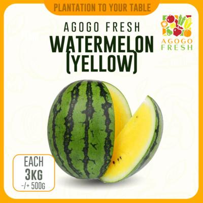 Watermelon (Yellow) 3kg