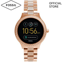 [FOSSIL OFFICIAL STORE] FOSSIL Q VENTURE DIGITAL ROSE GOLD STAINLESS STEEL SMART WATCH FTW6008